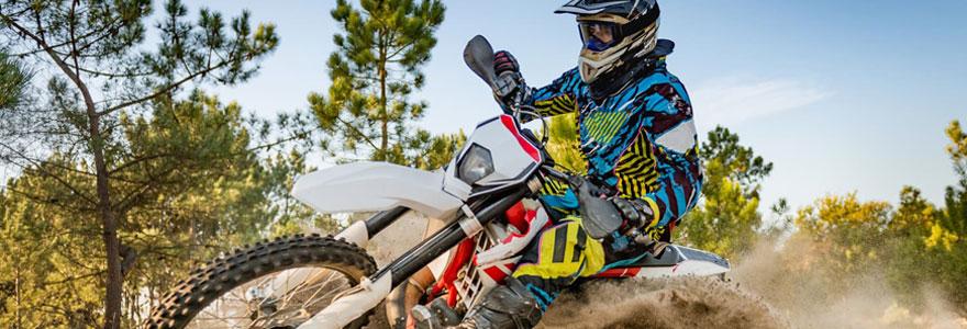 Équipement motocross et tout terrain