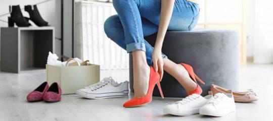 chaussures de tous styles