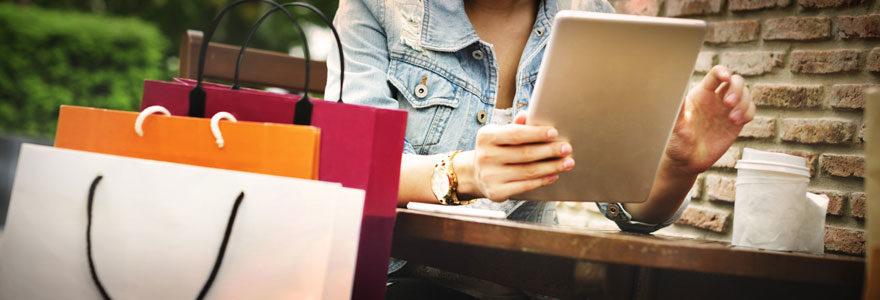 Faire un shopping en ligne pas cher