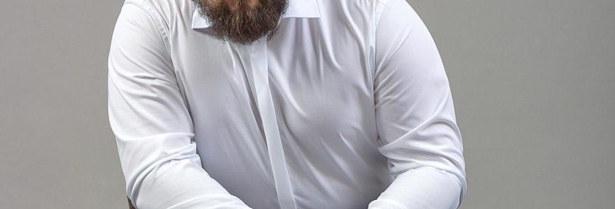 chemises pour homme fort